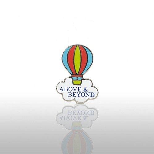 Above & Beyond - Balloon Lapel Pin