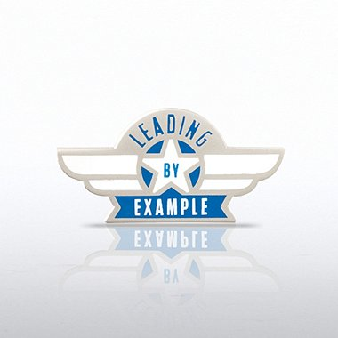 Lapel Pin - Leading by Example - Wings