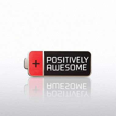 Lapel Pin - Positively Awesome