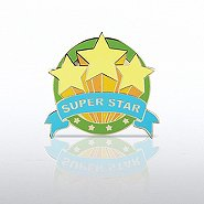 Lapel Pin - Super Star Trio