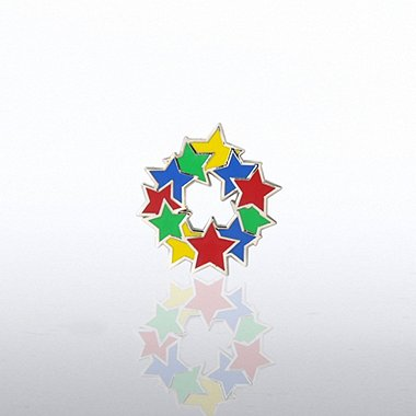 Lapel Pin - Circle of Stars