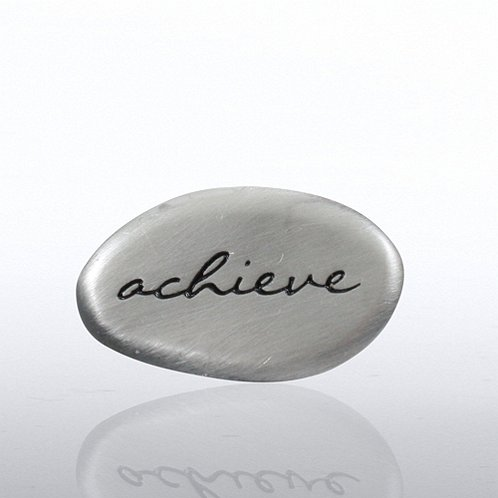 Stone Collection - Achieve Lapel Pin