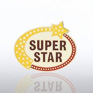 Lapel Pin - Super Star