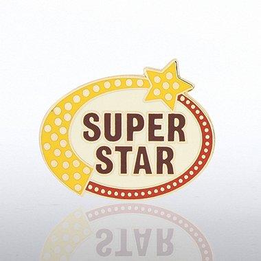 Lapel Pin - Super Star