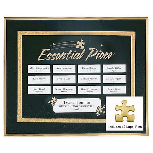 Essential Piece Perpetual Recognition Program w/ 12 Pins