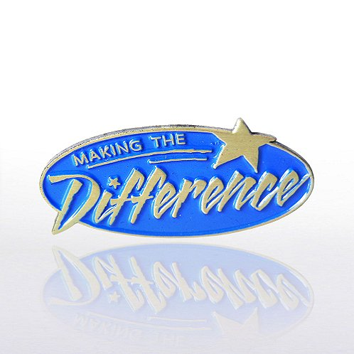 Making the Difference Blue Lapel Pin