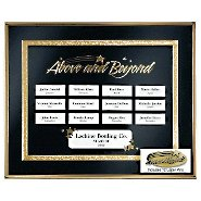 Perpetual Recognition Program - Above & Beyond w/12 Pins