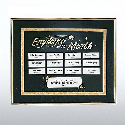 Employee of the Month Perpetual Recognition Program