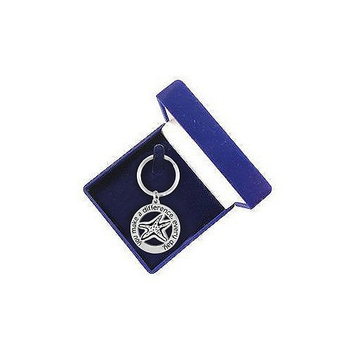 Blue Key Chain Presentation Box