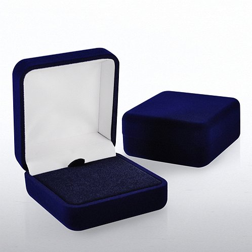 Blue Lapel Pin Presentation Box