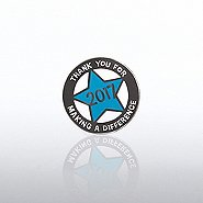 Lapel Pin - 2017 Cut Out Star
