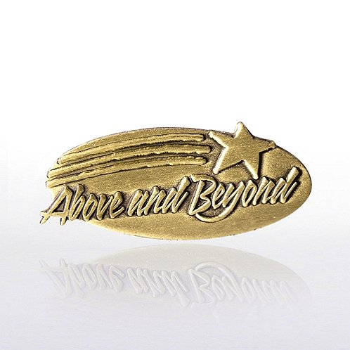 Above & Beyond Lapel Pin