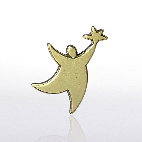 TEAM Guy Gold Lapel Pin