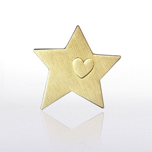 Service Star Gold Lapel Pin