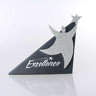 Sculptured Desk Awards - Excellence