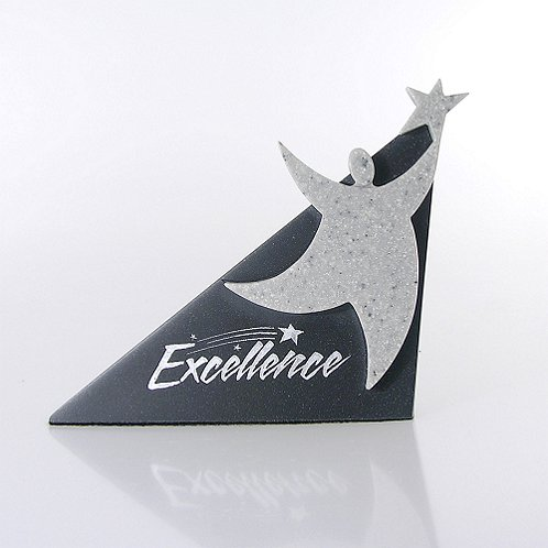 Excellence Sculptured Desk Award