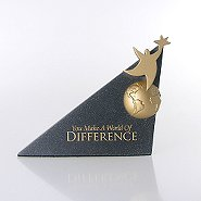 Sculptured Desk Awards - You Make a World of Difference