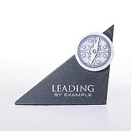 Sculptured Desk Awards - Compass: Leading by Example