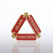 Lapel Pin - Stronger Together Chain