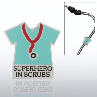 Superhero in Scrubs Steth-o-Charm