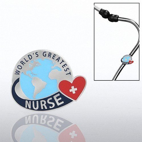 World's Greatest Nurse Steth-o-Charm