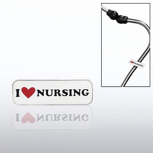 I Heart Nursing Steth-o-Charm