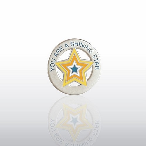 You're a Shining Star - Round Lapel Pin