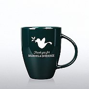 Luminous Holiday Mug: Thanks for Making a Difference