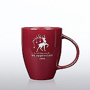 Luminous Holiday Mug: Reindeer, We Appreciate You