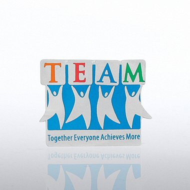Lapel Pin - Team Guys - Together Everyone Achieves More