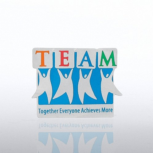 Team Guys - Together Everyone Achieves More Lapel Pin