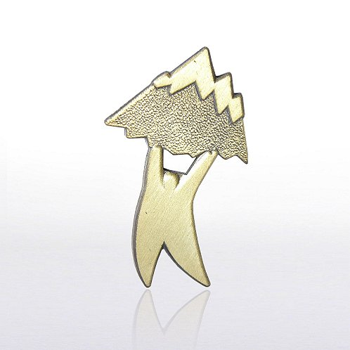Mountain Mover Lapel Pin