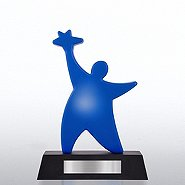 Light-Up Trophy - Team Guy