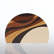 Natural Wood Trophy - Round