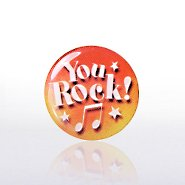 Lapel Pin - You Rock - Multi-Color