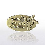 Lapel Pin - Starfish: Making the Difference