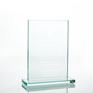 Jade Character Trophy - Rectangle Medium