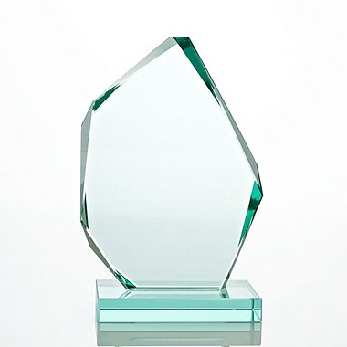 Premium Jade Trophy - Large Peak