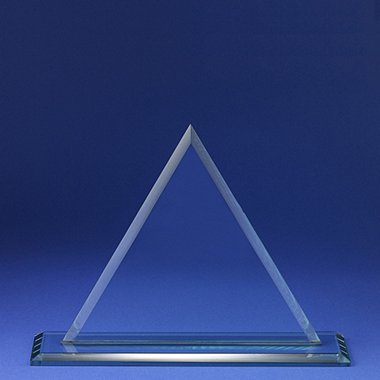 Premium Jade Glass - Triangle - Large