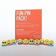 Fun Pin Pack - Appreciation Emojis