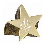 Paperweight - You are a Star - Gold