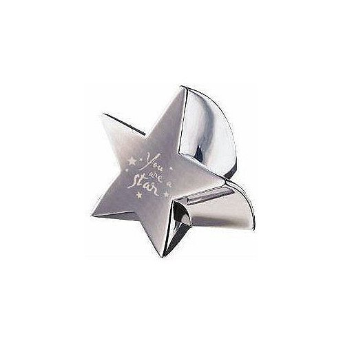 You are a Star Silver Paperweight