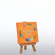 Inspirational Desktop Easel Art - Thank You