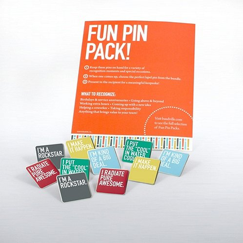 Exclamations Fun Pin Pack