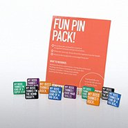 Fun Pin Packs - My Boss Thinks...Assortment