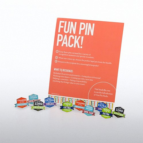 Gratitude with Attitude Fun Pin Packs