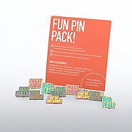 Fun Pin Pack - Neon Glitter Praise