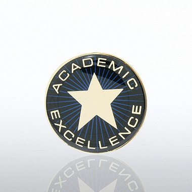 Lapel Pin - Academic Excellence Star