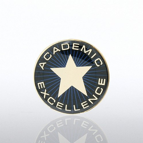 Academic Excellence Star Lapel Pin