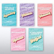Cheer Pin Bundle - Smart Sayings